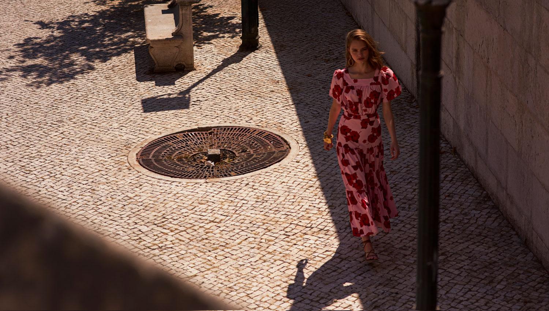 Walking in streets 1