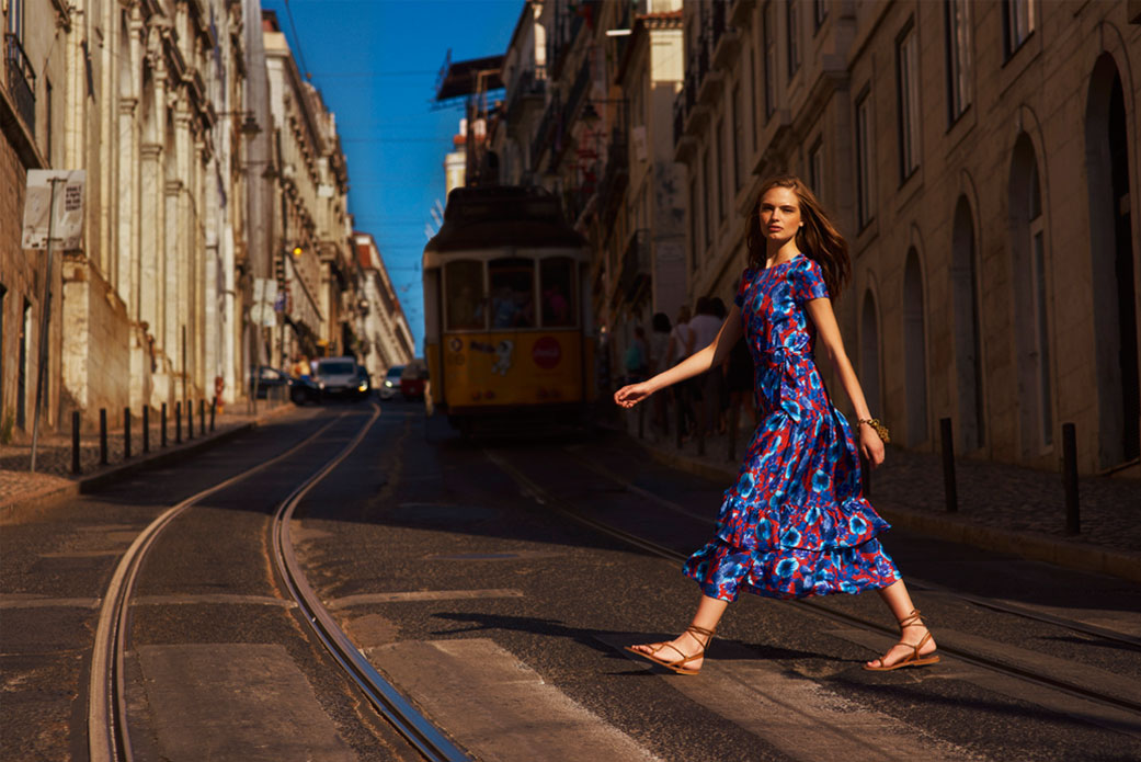 Walking in streets